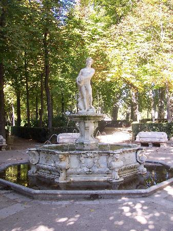 Aranjuez, Spanien: Just one of the beautiful walkways