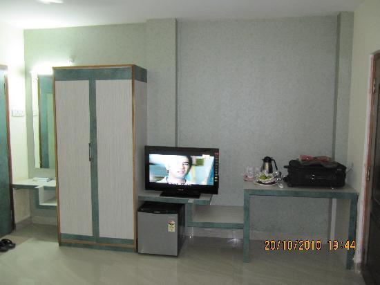 Dibrugarh, India: Front view of the room