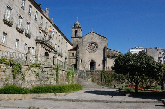 Pontevedra, : Chiesa di San Francisco a Pontevedra