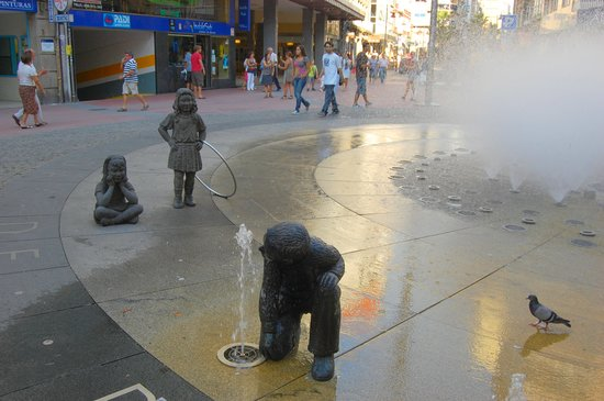 Fontana a Pontevedra