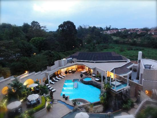 Aerial pool view - Tribe Hotel