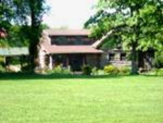 Freeburg, อิลลินอยส์: Rustic and Romantic Log Cabin Bed & Breakfast