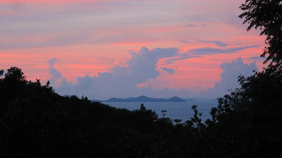 Kep, Cambodia: Sunrise from the treehouse