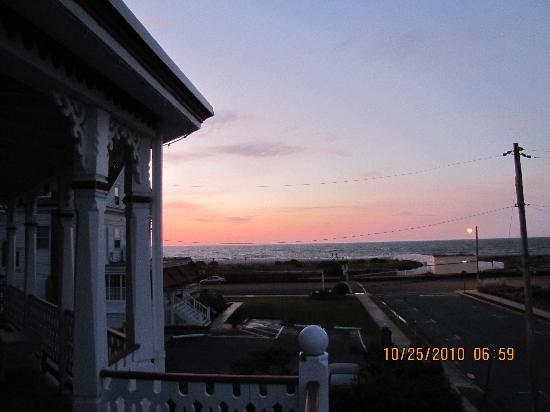 Angel of the Sea: Sunrise from the porch