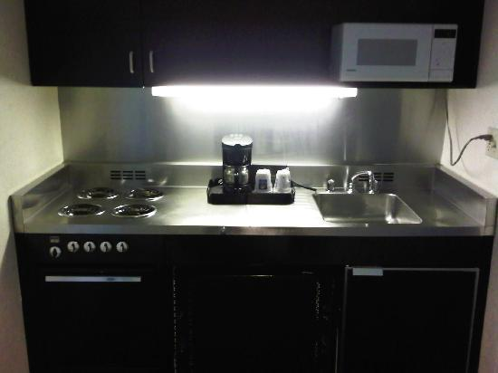Comfort Inn University Center: Kitchen