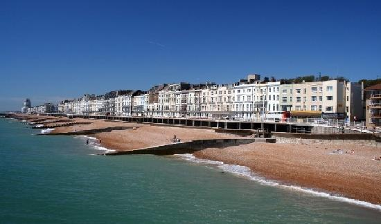 Hastings, UK: great sea front