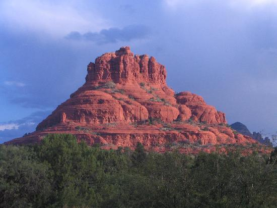 Canyon Villa Bed and Breakfast Inn of Sedona: View from our room