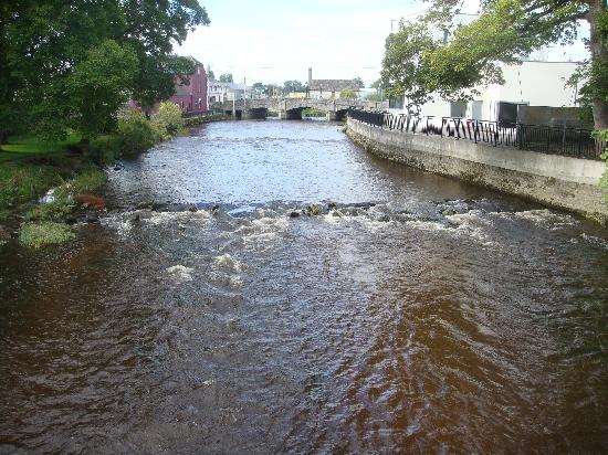 Talbot Hotel Carlow: local river