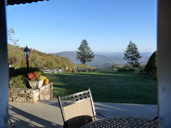 Little Switzerland, NC: View from The Patio