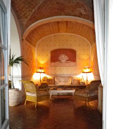 Gaiole in Chianti, Italy: part of the main gathering room