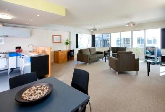 Quest at St Pauls: 2 bedroom Living area