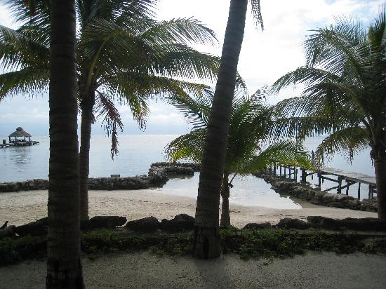 Xanadu Island Resort Belize: View from room 10