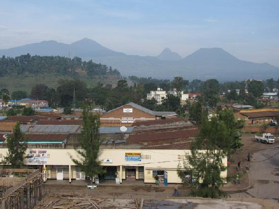 Virunga Hotel: view from rooftop