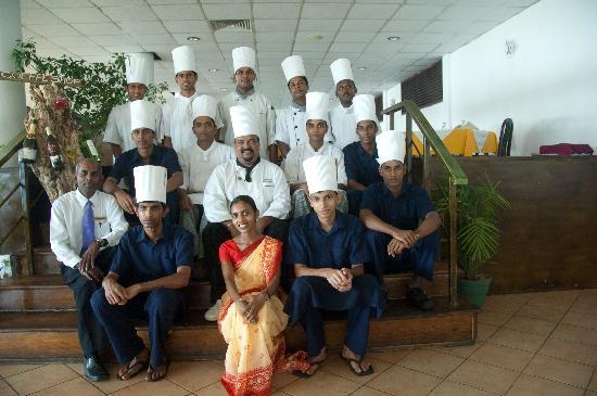 Mr. Executive Chef and Induruwa Restaurant Staff