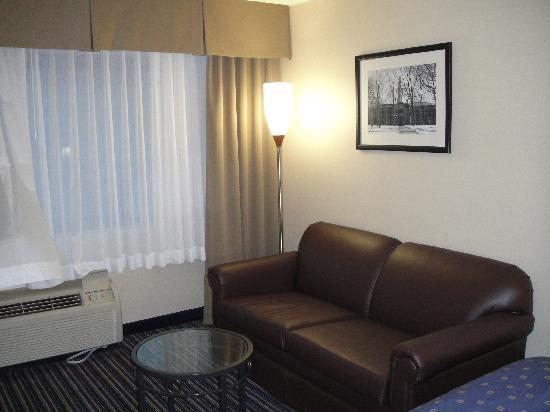 Holiday Inn Princeton: Pic of my room 2