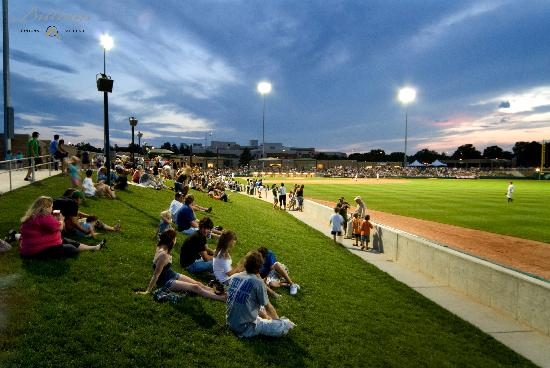 Dehler Park Baseball Stadium - from the Billings Convention & Visitors Bureau