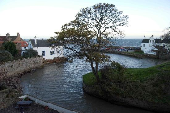 Anstruther, UK: The view from room 4