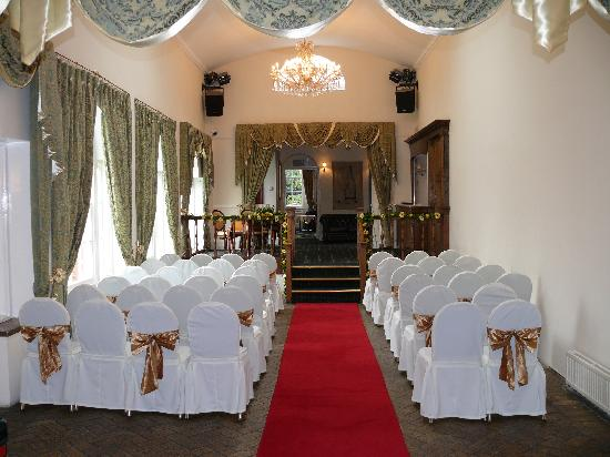 Caistor Hall Hotel: Wedding Ceremony