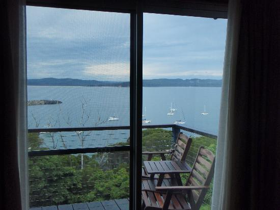 Snug Cove Bed and Breakfast: our own patio!