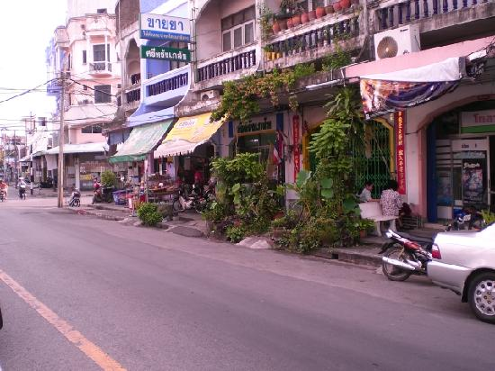 Hat Yai, Thailand: Hadayi street