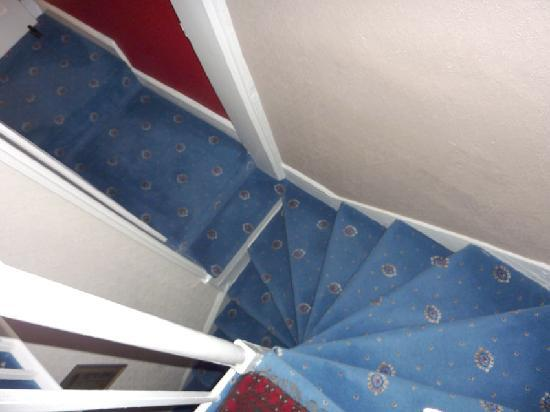The Coach House: The steep and challenging stairs