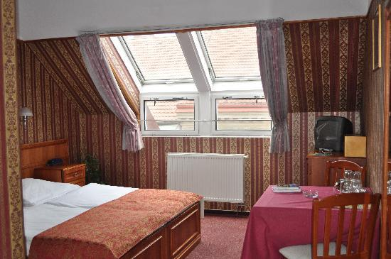 Old Prague Hotel: spacious double room