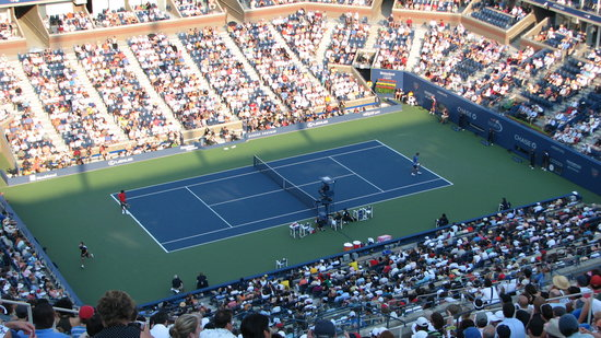 Flushing, Нью-Йорк: USTA National Tennis Center