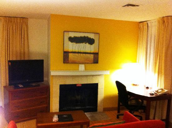 Residence Inn Lubbock: Living Area