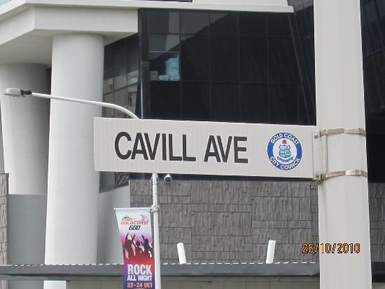 cavill avenue gold coast queensland. Moorings on Cavill Avenue: