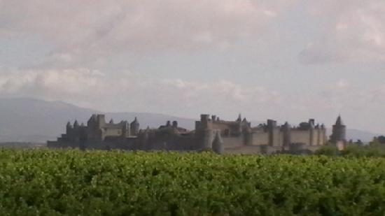 Limoux, ฝรั่งเศส: on route to Carcasonne city