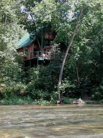 Tree House Cabins at River of Life Farm: The Tree House