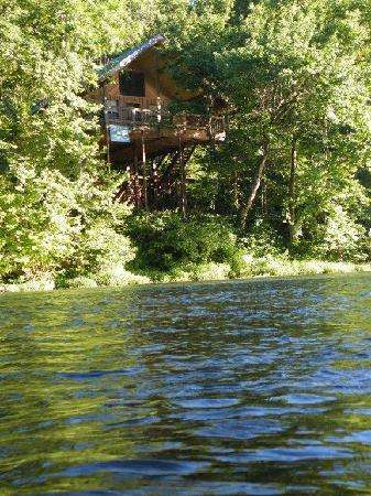 Tree House Cabins at River of Life Farm: Couples Tree Top Hideaway