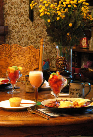 Cobblestone Bed and Breakfast: Cobblestone Breakfast