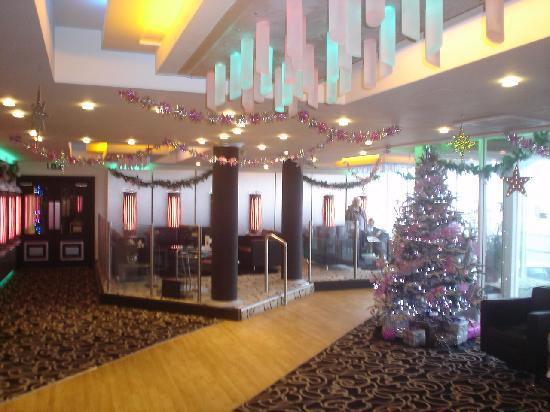 Tiffany's Hotel Blackpool: Tiffany's trim up for Christmas