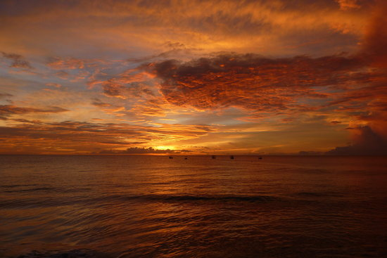 Saint James Parish, Barbados: Another great sunset