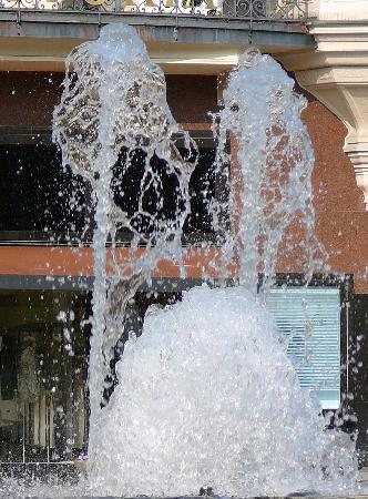 Water fountain, Baden-baden