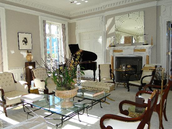 Set Up Of Condo Great Room With Baby Grand Piano