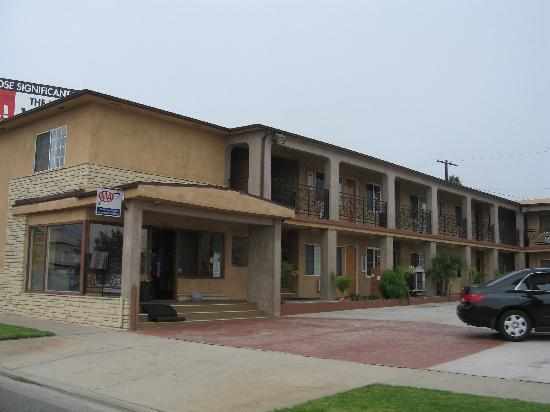 Rodeway Inn &amp; Suites Pacific Coast Highway: Set udefra