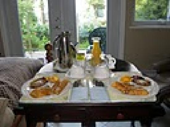 Deer Fern Bed and Breakfast: Paradise breakfast