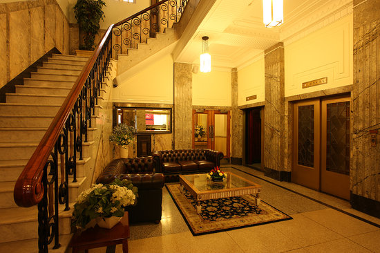 Rothbury Heritage Apartment Hotel: Original Foyer