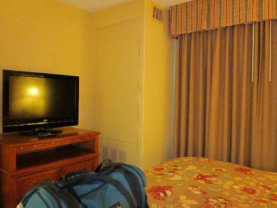 Homewood Suites by Hilton - Asheville: Bedroom TV