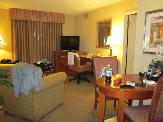Homewood Suites by Hilton - Asheville: Living Room