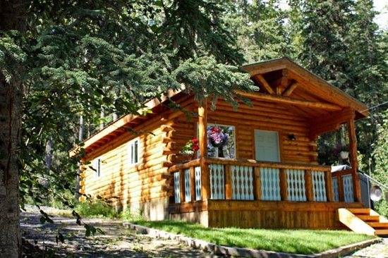 Homestead Guest Cabins: Cozy hand crafted log cabins