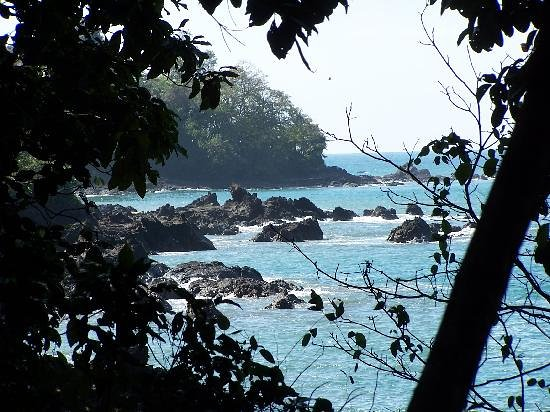 Casita Corcovado: View from the walking trail