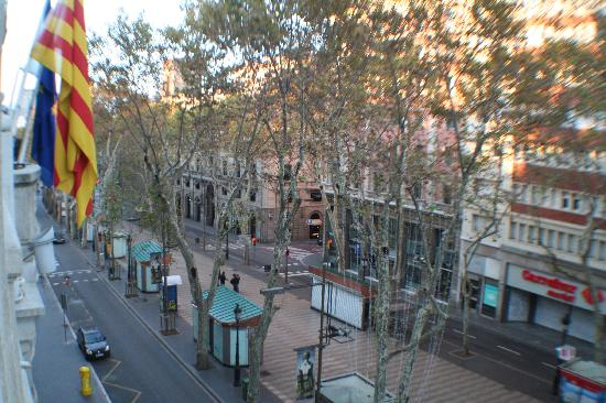 Hotel Serhs Rivoli Rambla: La Ramblas
