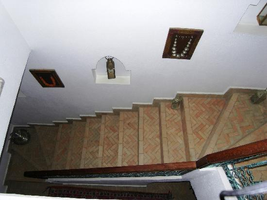 Riad Sesame: escalier