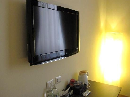 Rome Armony Suites: There's about 120 channels, which is fine if you speak italian!
