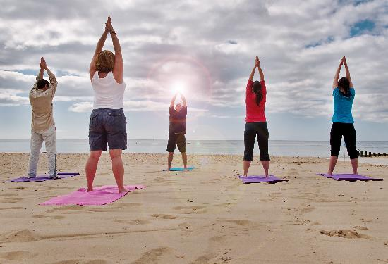 Beach Yoga Pictures Yoga on The Beach Energise