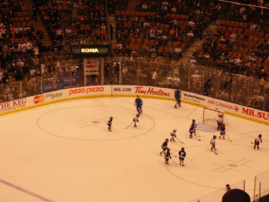 The Air Canada Centre: Toronto Maple Leafs vs. Vancouver Canucks
