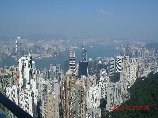 Golden Crown Guesthouse: Hong Kong Island Peak Lookout